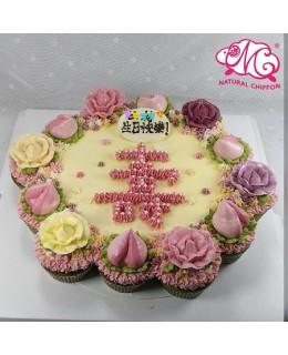 19大CupcakesCake