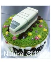 B012(i) 1層鐵路蛋糕 約2.5磅(7吋)