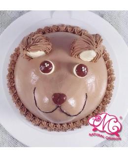 B092 3D 狗仔蛋糕 約7吋2磅