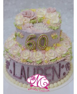 T001 2層蛋糕  約3-3.5磅(5吋,7吋)