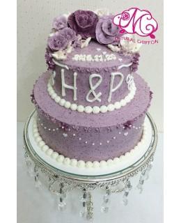 T002 2層蛋糕  約3-3.5磅(5吋,7吋)