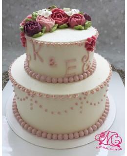 T004 2層蛋糕  約3-3.5磅(5吋,7吋)