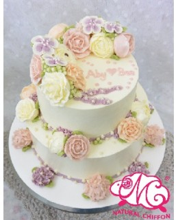 T013 2層蛋糕  約6-7磅(7吋,9吋)