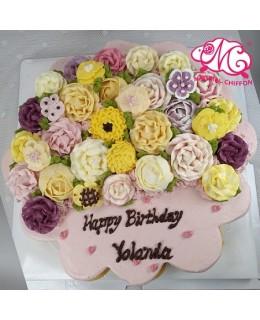 韓花 19大CupcakesCake