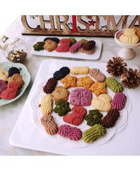 1. 2017《華麗聖誕3層鐵罐禮盒》