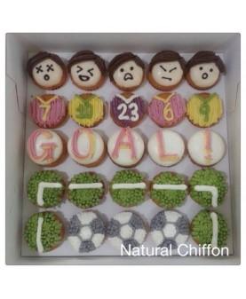 2014世界盃Mini Cupcake禮盒(25件)