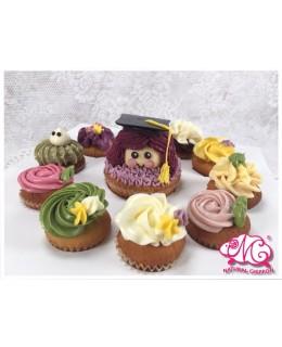 2017畢業女生1大10小 Cupcake