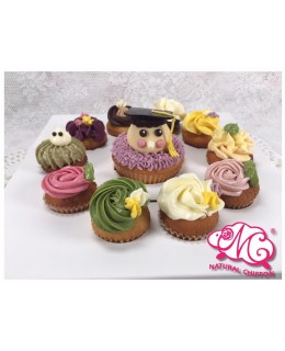 2017畢業BB生1大10小Cupcake