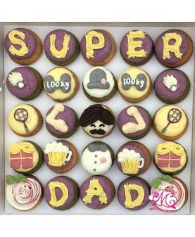2017父親節25件Mini Cupcake禮盒