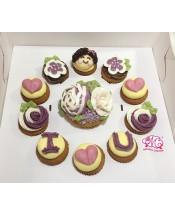2017母親節1大10小Cupcake禮盒