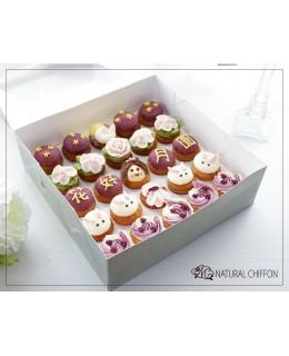 2018《中秋Mini cupcake禮盒》(25個)