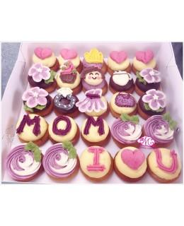 2018母親節Mini cupcake 25件裝