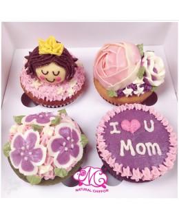 2018母親節4大Cupcake禮盒