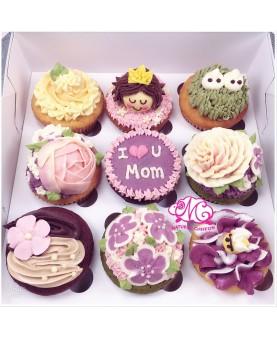 2018母親節9大Cupcake禮盒