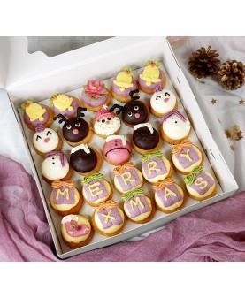 2018聖誕Mini cupcake禮盒(25個)