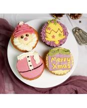 2018聖誕Cupcake禮盒(4件裝)