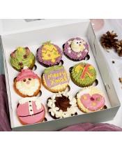2018聖誕Cupcake禮盒(9件裝)