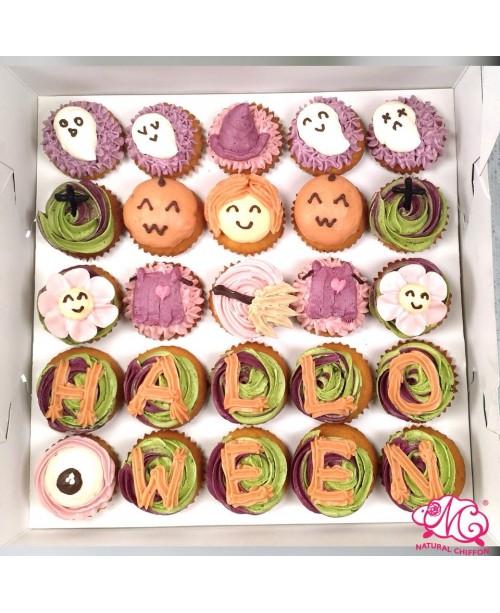 2018萬聖節Mini Cupcake25件裝
