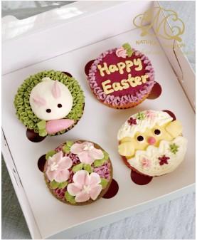 2019復活節4件Cupcake禮盒
