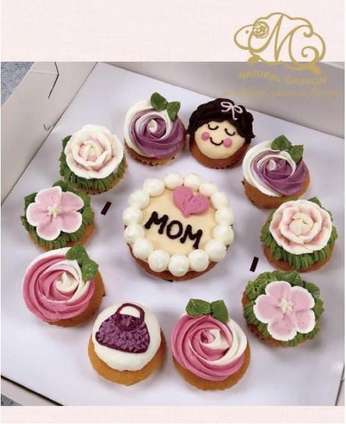 2019母親節1大10小禮盒