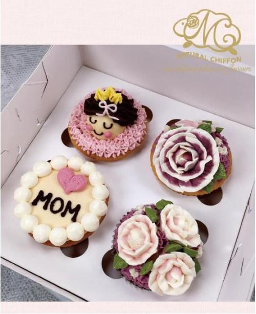 2019母親節4件Cupcake禮盒