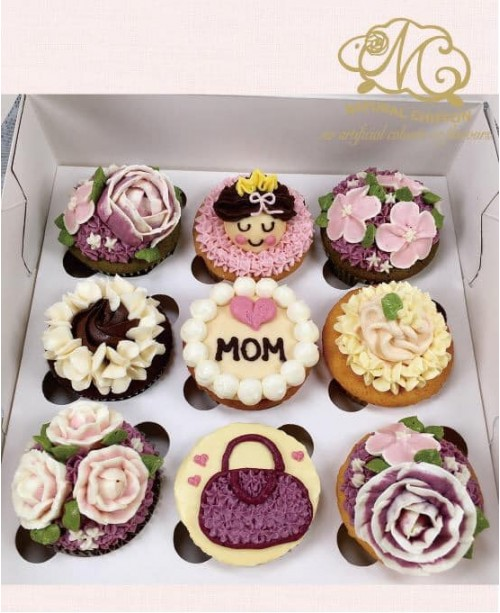 2019母親節9件Cupcake禮盒