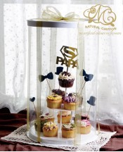 2019父親節Cupcake Tower(免上架)
