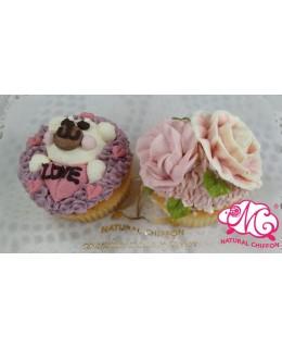 2020情人節2件Cupcake禮盒