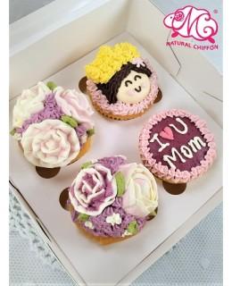 2020母親節4件裝Cupcake禮盒
