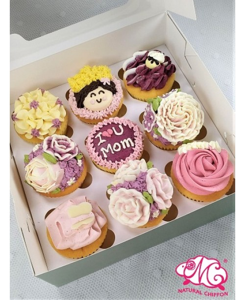 2020母親節9件Cupcake禮盒