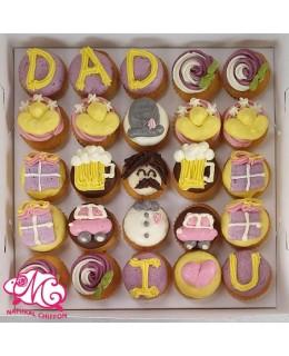 2020父親節Mini Cupcake禮盒(25個)