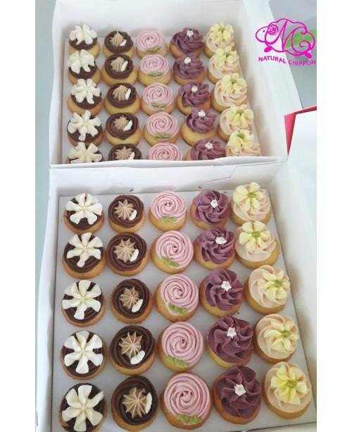 100件優惠裝mini cupcake