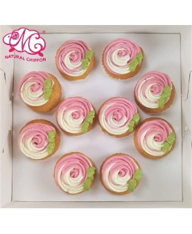 雙色玫瑰輕量裝Mini Cupcake