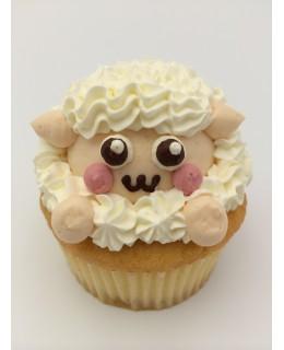 CA016 羊 Cupcake