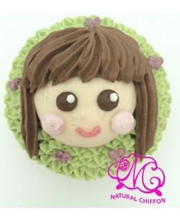 CS017 長髮女孩 Cupcake