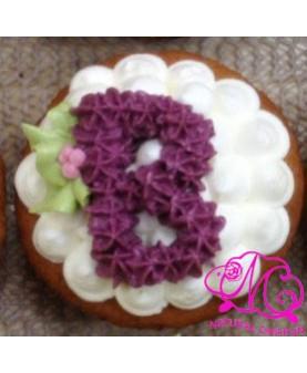 字母cupcake